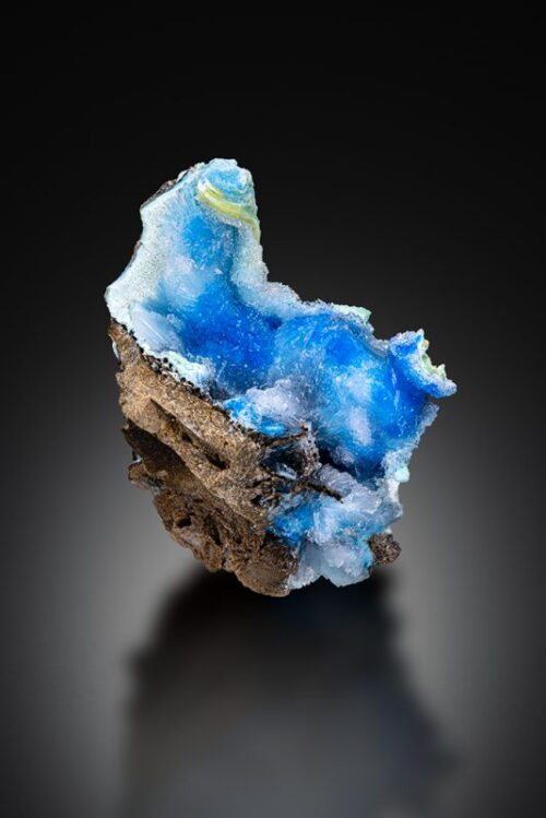 YK027 Cyanotrichite and Creedite