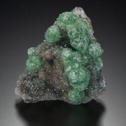 19KW029 Cuprian Smithsonite